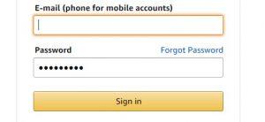 password security login